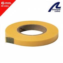 Masking tape, 6 mm. ARTESANIA LATINA 27633-6