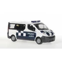 Renault trafic de la policia municipal de Madrid. RIETZE 51367