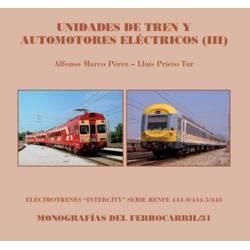 Unidades de tren y automotores eléctricos (III): Renfe 444 y 448