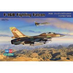 F-16B Fighting Falcon.