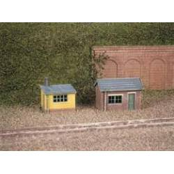 Lineside huts. RATIO 237