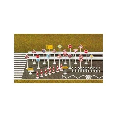 Set de señales de tráfico. BUSCH 6027