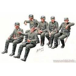Infantería alemana, II Guerra Mundial. MASTER BOX 35137