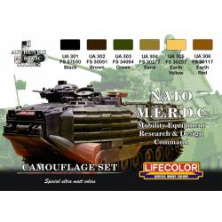 NATO M.E.R.D.C. Set. LIFECOLOR CS02