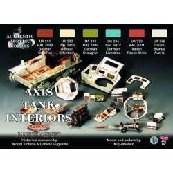 Axis Tank Interior Set. LIFECOLOR CS22