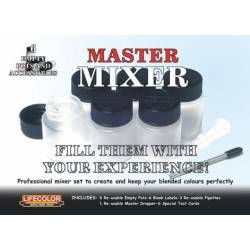 Master Mixer, create your own color. LIFECOLOR MX