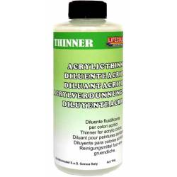 Thinner for airbrushing. 250 ml. LIFECOLOR THL