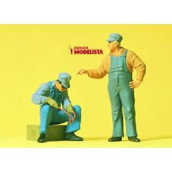 Dos soldadores. PREISER 63077