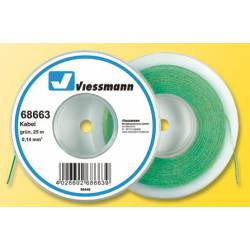 Green wire, 0.14mm².