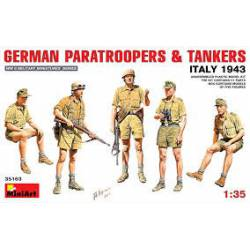 German Paratroopers and tankers.