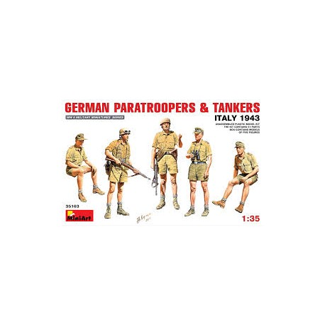 German Paratroopers and tankers. MINIART 35163