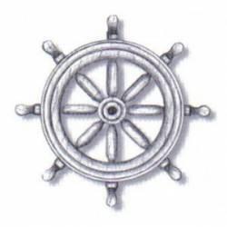 Ruedas timón, 30 mm. AMATI 4353/30