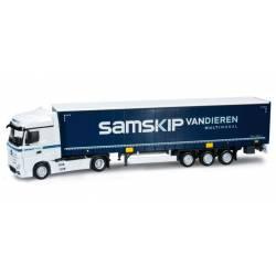 "Mercedes-Benz Actros Bigspace ""Samskip"". HERPA 159609"