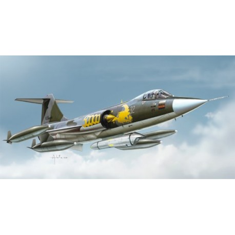 F-104G Starfighter. ITALERI 1296
