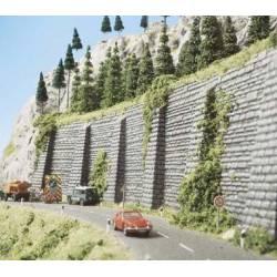 Muro de contención.