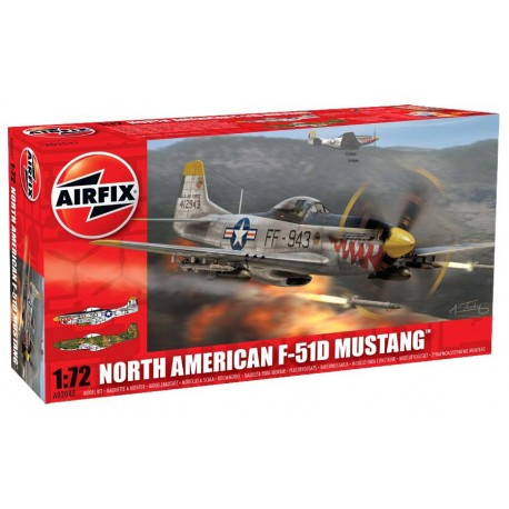 North American F-51. AIRFIX A02047