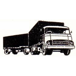 Barreiros with trailer.