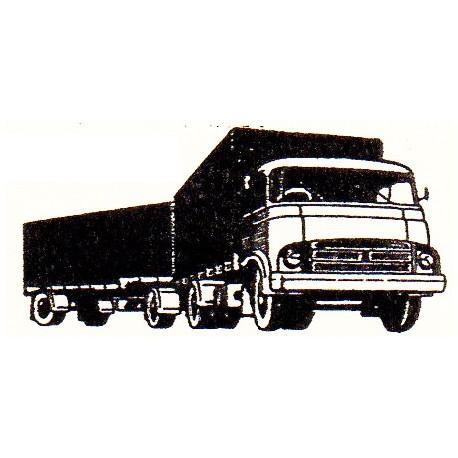 Barreiros with trailer. TOYEKO 2068