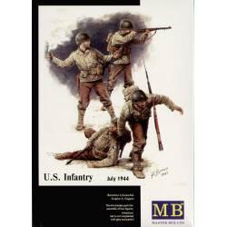 Infantería americana, 1944.