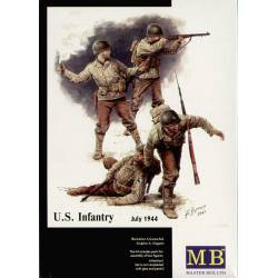 US Infantry. 1944.