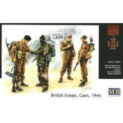 British troops, Caen 1944.