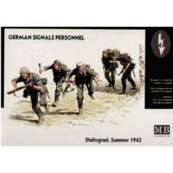 German signals personnel.