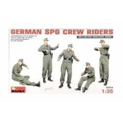German SPG crew riders.