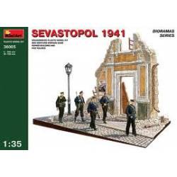 Edficio en ruinas, Sevastopol 1941. MINIART 36005