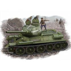 Tanque ruso T-34/85. HOBBY BOSS 84807