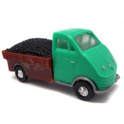 Camioneta DKW con carbón.
