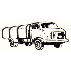 Camión de basura. TOYEKO 2123