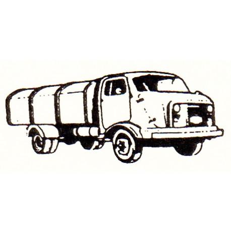 Refuse lorry. TOYEKO 2123