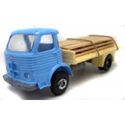 Pegaso comet con madera.