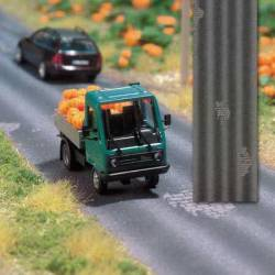 Carretera bacheada.