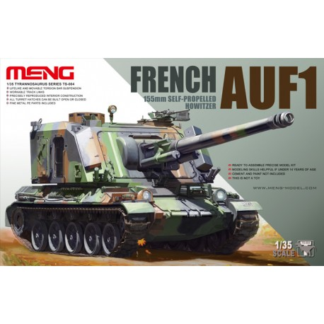 French AUF1 155mm self-propelled howitzer. MENG TS-004
