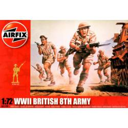 """WWII British 8th Army, """"Desert Rats"""". AIRFIX A01709"""