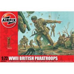 Paracaidistas británicos, WWII.