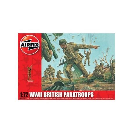 Paracaidistas británicos, WWII. AIRFIX A01723