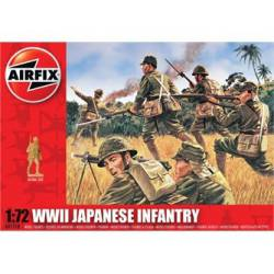 WWII Japanese Infantry. AIRFIX A01718
