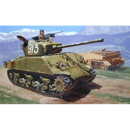 M4A2 76 mm Sherman. ITALERI 6483