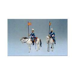 Guardia Real: Lancero a caballo.