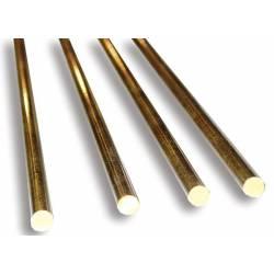 Round brass profile. 0,5 mm. HIRSCH 7605