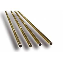 Tubo de latón 1,3 x 0,2 mm.