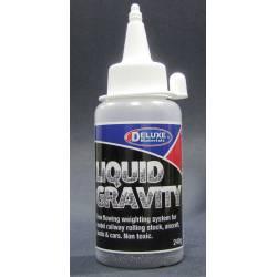 Liquid gravity.