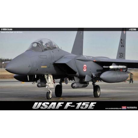 """USAF F-15E """"Seymour Johnson"""". ACADEMY 12295"""