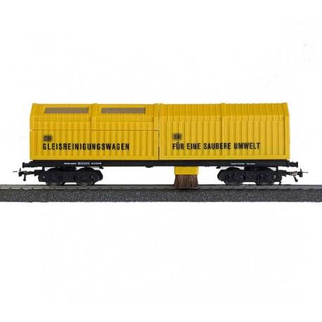 Vagón limpiavías por aspiración. DC. LUX-Modellbau 8831