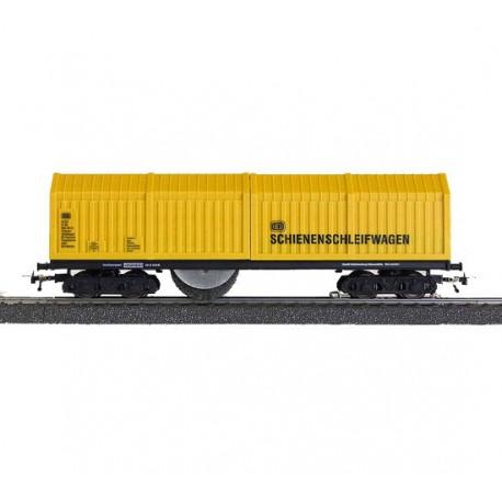 Vagón limpiador de railes y catenaria. LUX-Modellbau 9131