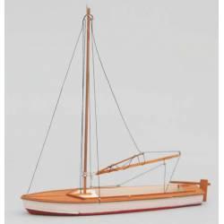 Barco velero de recreo.