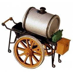 Oil cart.