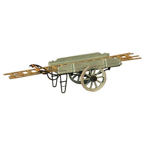 Cart for ladders. ARTITEC 387.24-GN
